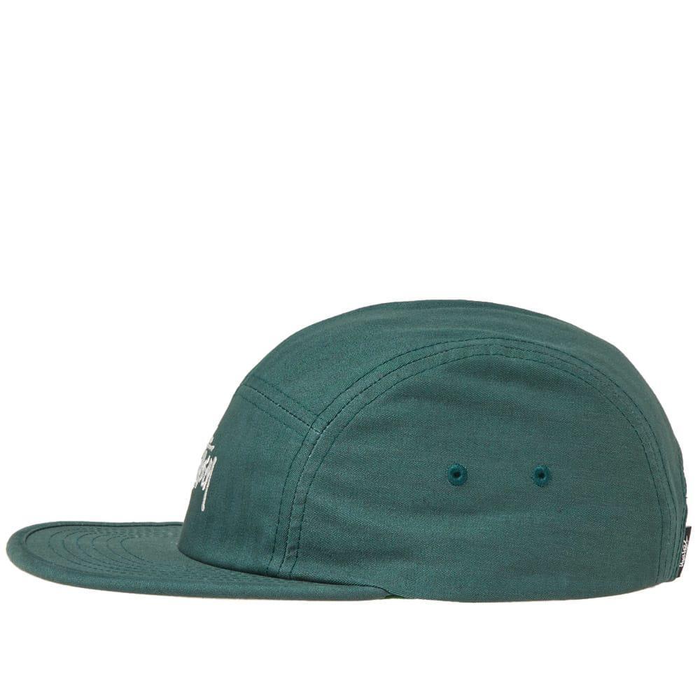 a9ac258b184 Lyst - Stussy Stock Herringbone Camp Cap in Green for Men