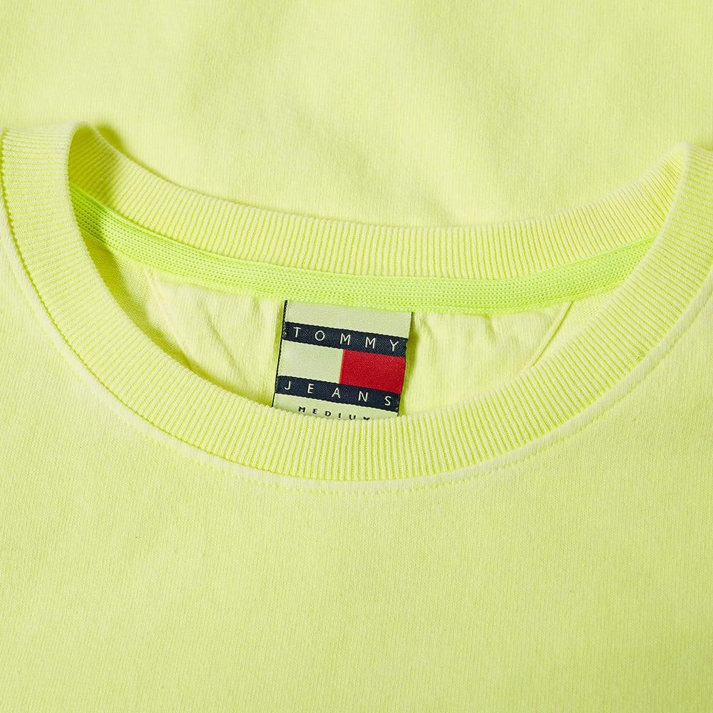 642626ab Tommy Hilfiger - Yellow 5.0 Women's 90s Logo Tee - Lyst. View fullscreen