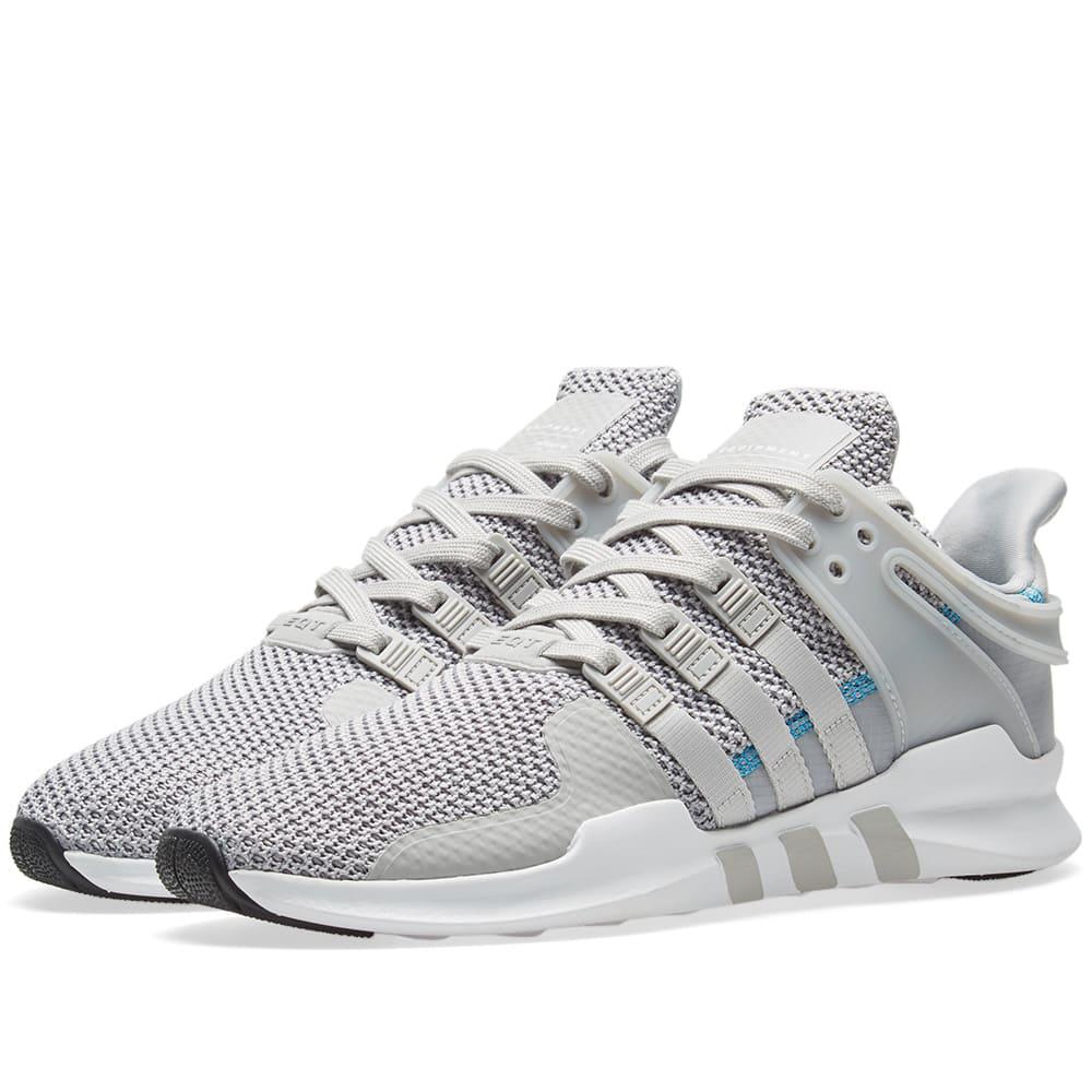 cc9adfe76593c8 Adidas Eqt Support Adv Ripstop in Gray for Men - Save ...