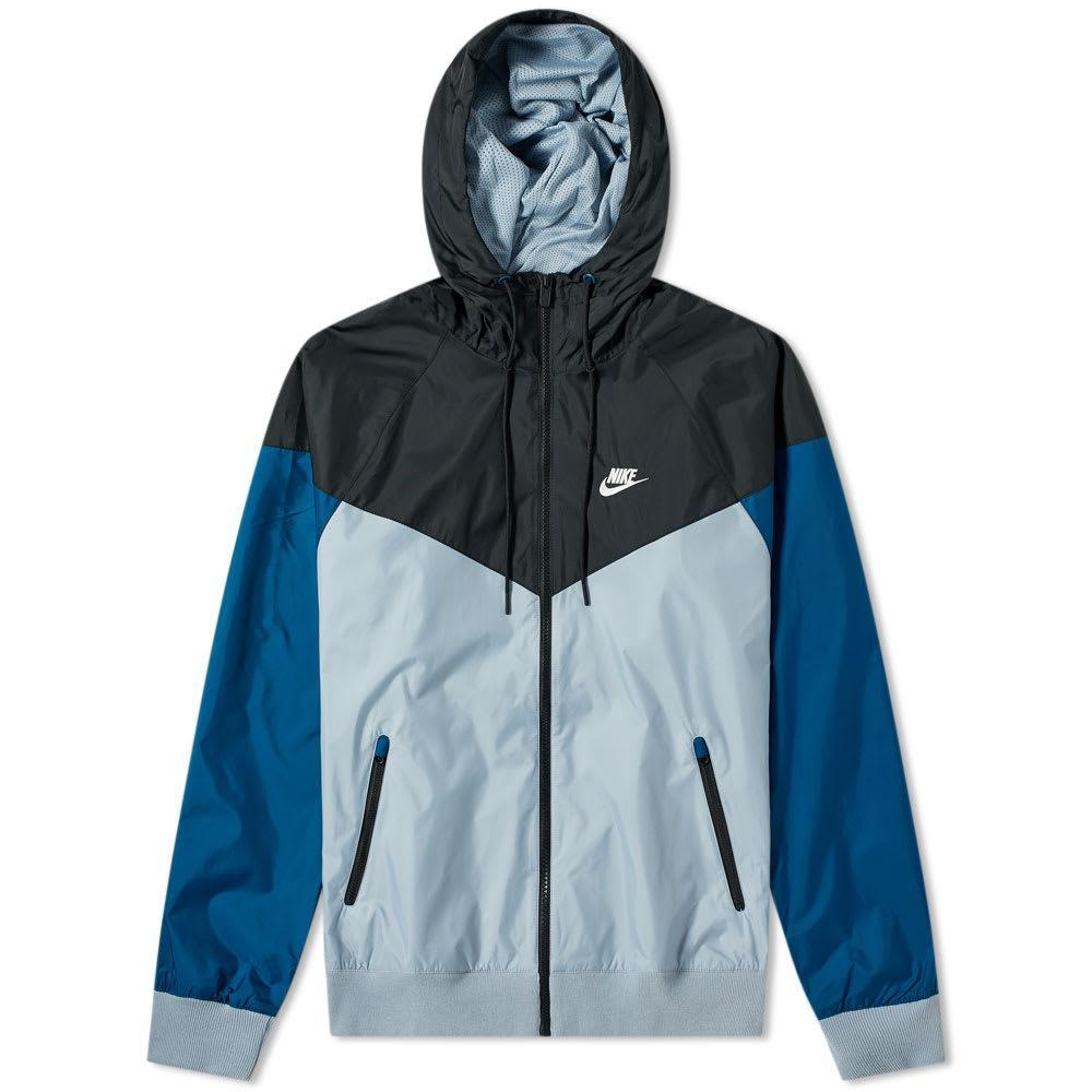 452758d5ab71 Nike Windrunner Jacket in Blue for Men - Lyst