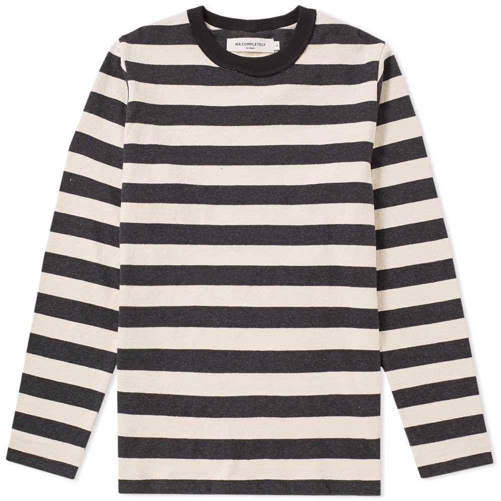 Lyst - Mr. Completely Striped Shirt in Black for Men