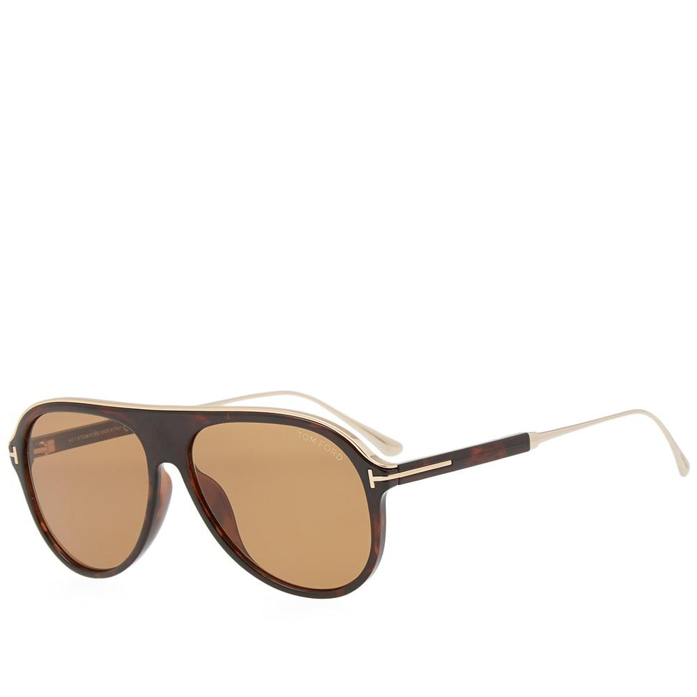 10cbfdeea6c Lyst - Tom Ford Tom Ford Ft0624 Nicholai-02 Sunglasses in Brown for Men