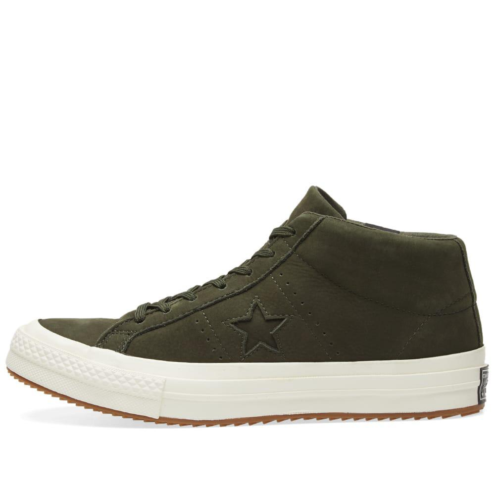 9bbfc289875 Lyst - Converse One Star Counter Climate Mid in Green for Men