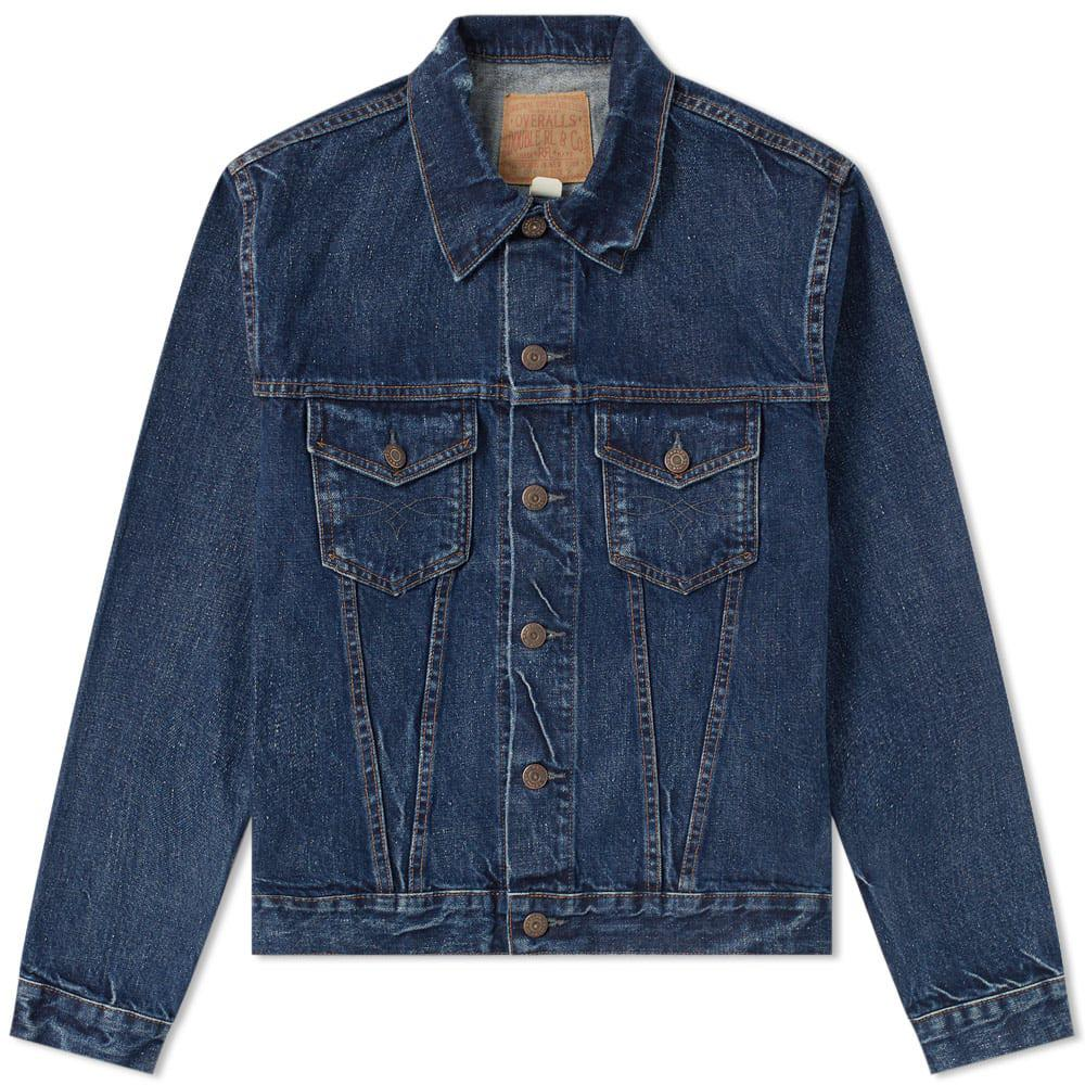 8a68a73e51 Lyst - RRL 3rd Edition Denim Jacket in Blue for Men