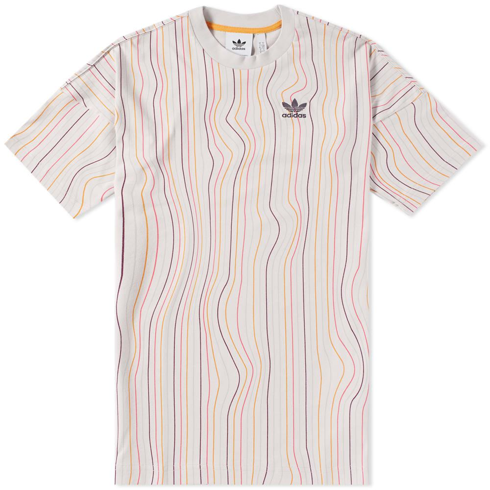 9cd727f287 adidas Warped Stripes Tee for Men - Lyst