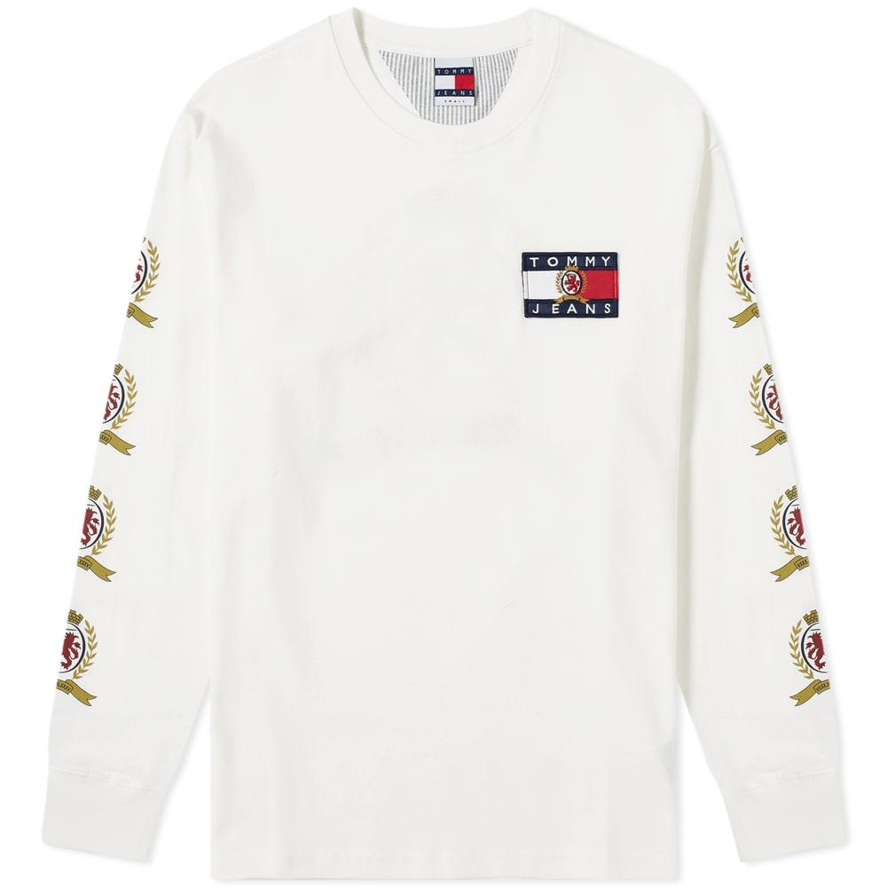 6e1157eff Tommy Hilfiger 6.0 Long Sleeve Crest Tee M28 in White for Men - Lyst