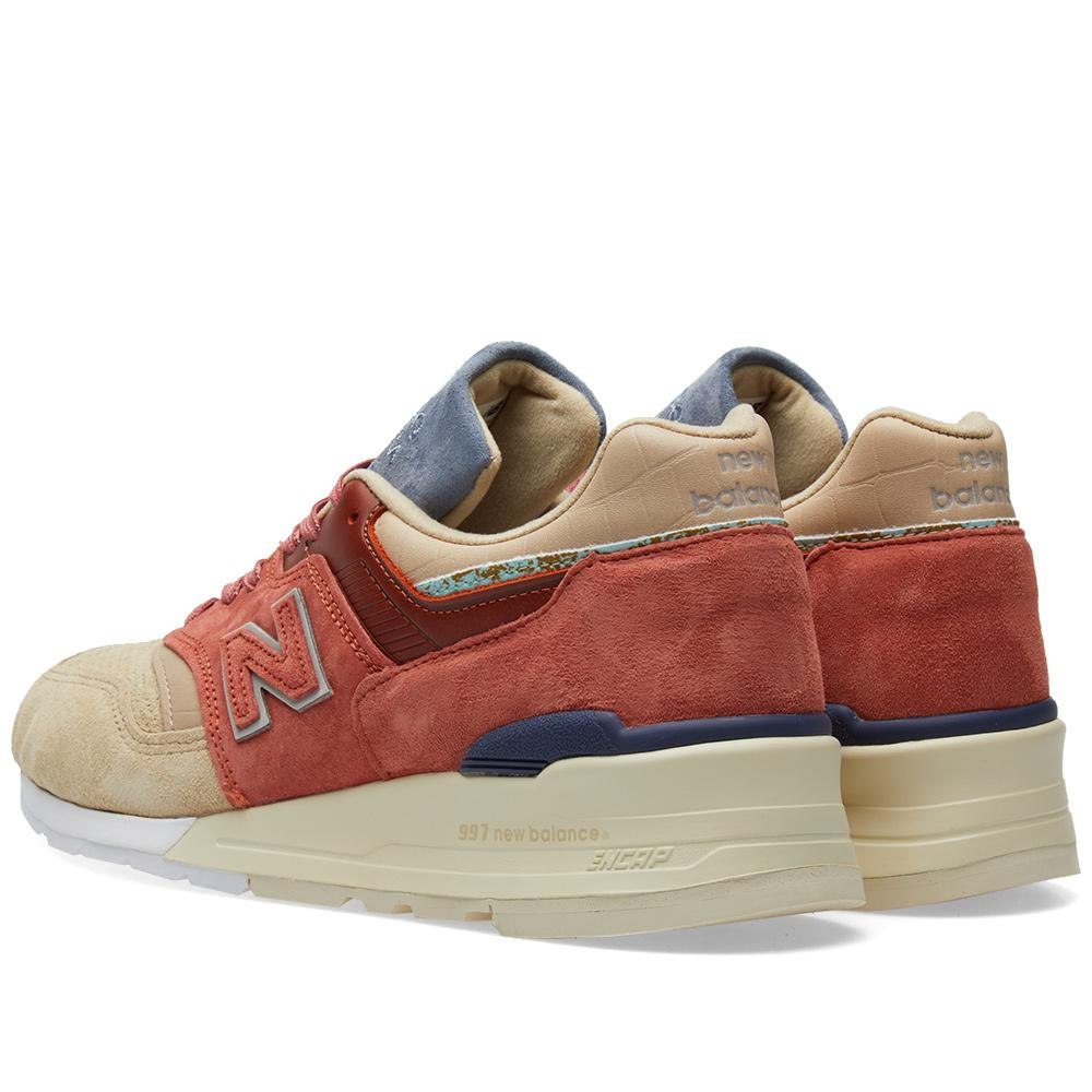 brand new c9f15 b01df New Balance X Stance M997st - Made In The Usa in Red for Men ...