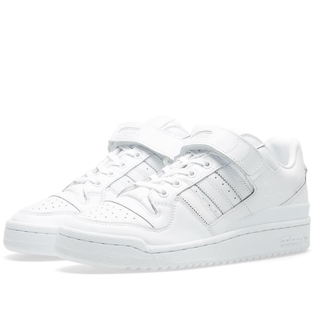 lyst adidas forum raffinati in bianco.