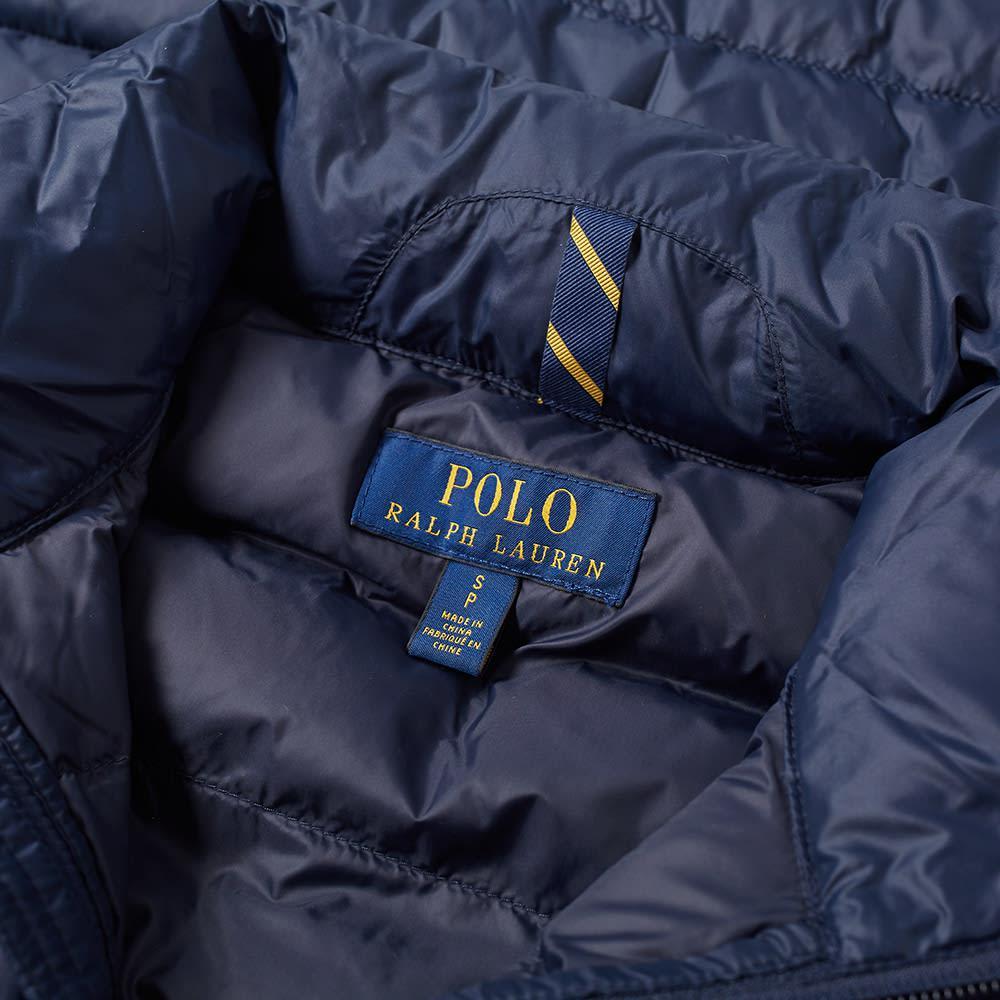 d5354904122c8 Polo Ralph Lauren - Blue Bleeker Down Jacket for Men - Lyst. View fullscreen