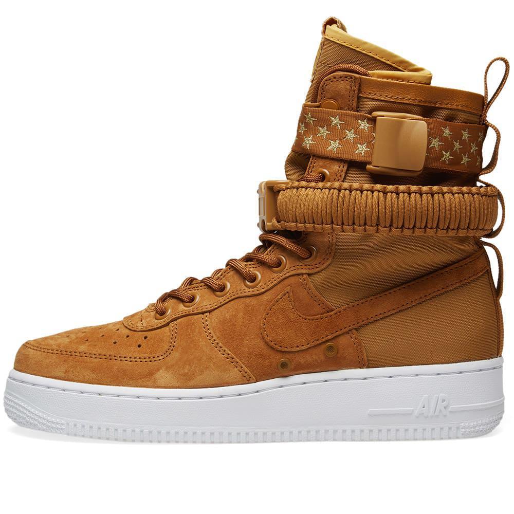 96ab33d57 Nike - Brown Sf Air Force 1 W - Lyst. View fullscreen