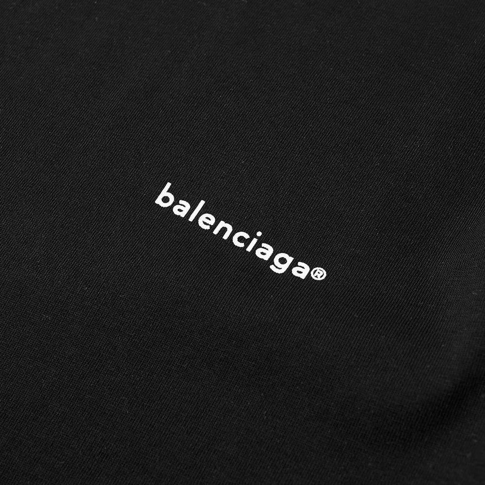f04958d1a9b Balenciaga Long Sleeve Copywrite Logo Tee in Black for Men - Lyst DIY  Report  Balenciaga Crop Top ...