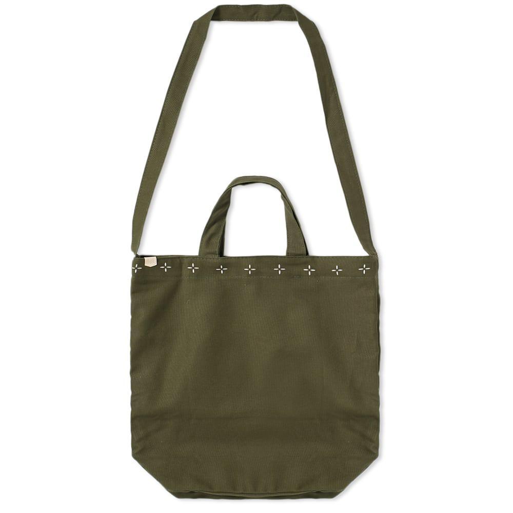 699042f5b9c5 Maple - Green Canvas Tote Bag for Men - Lyst. View fullscreen