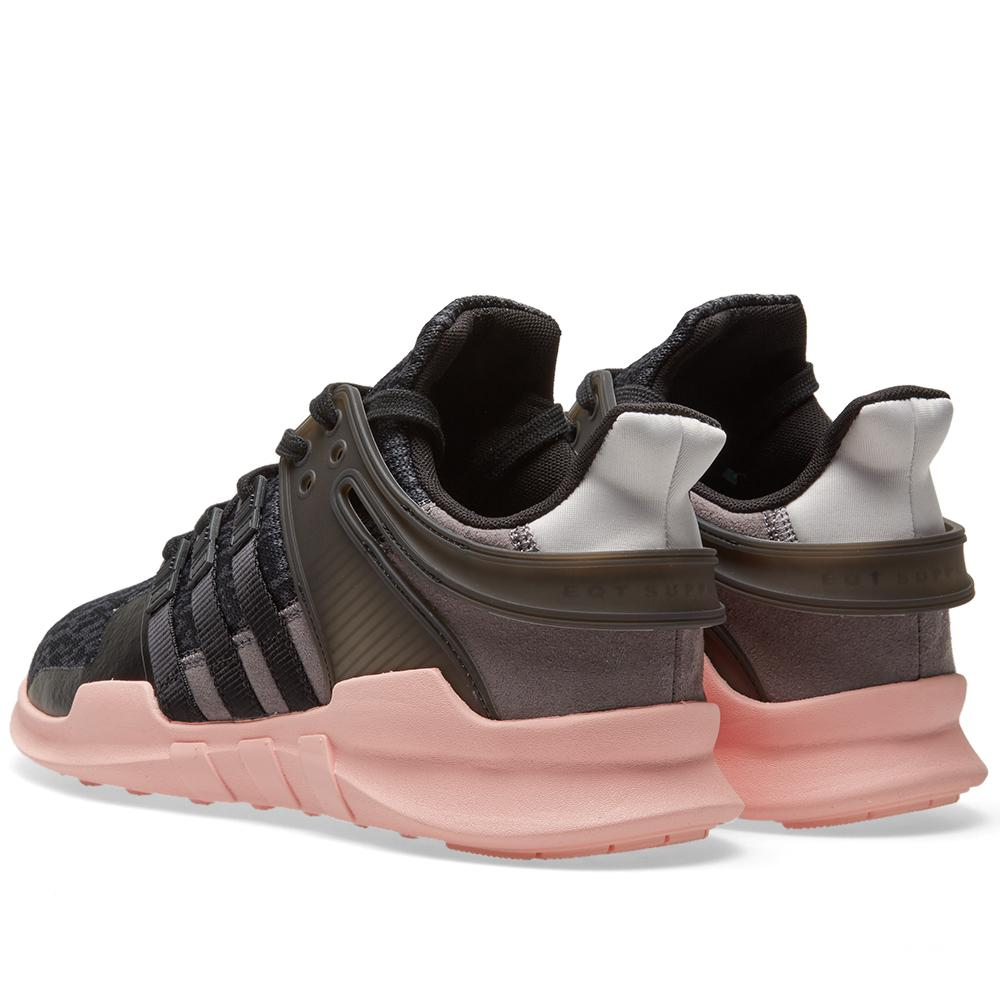 official photos 42a96 a961f ... new zealand the womens adidas eqt support adv in black and trace grey lyst  adidas originals