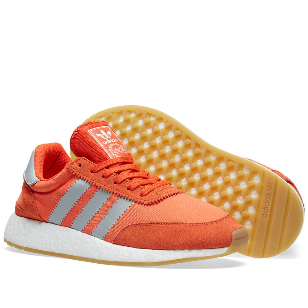 lyst adidas originali delle donne iniki runner w in arancione