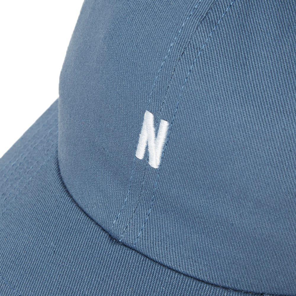 ea4b6c70881 Norse Projects - Blue Light Twill Sports Cap for Men - Lyst. View fullscreen