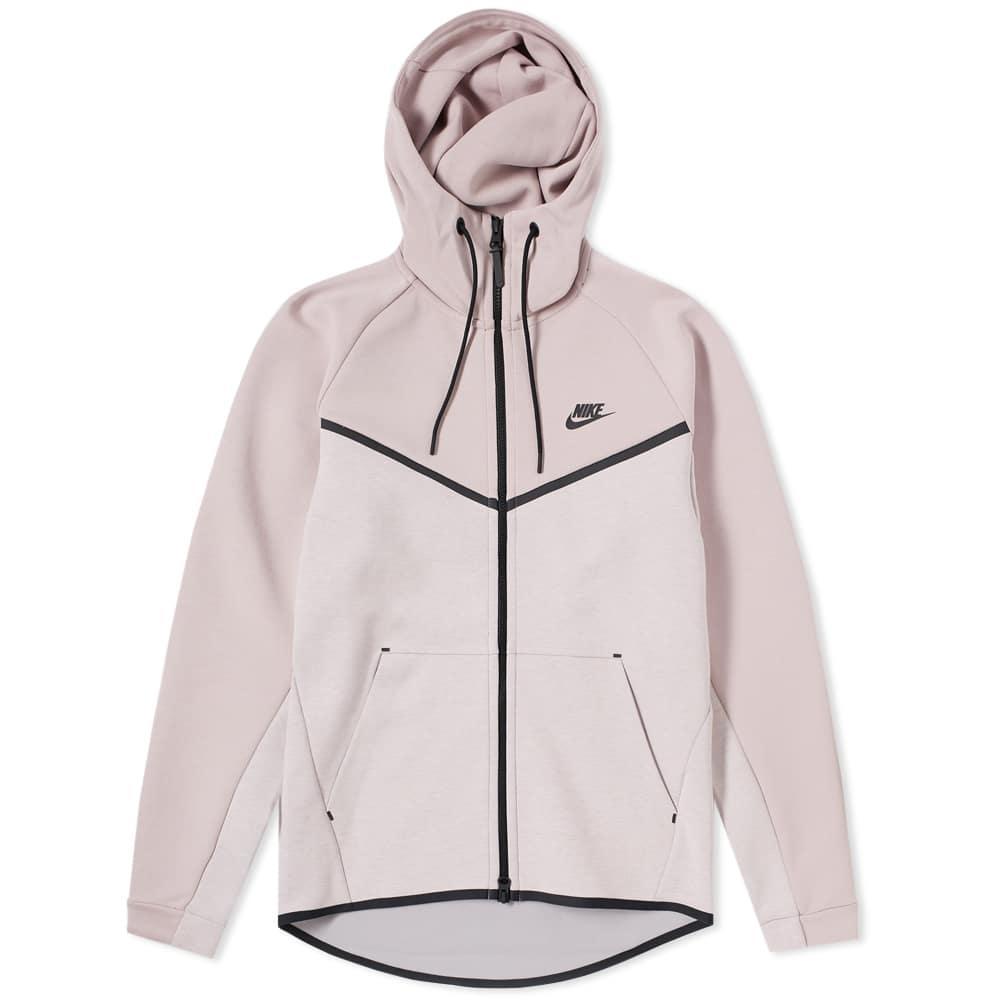 7e3dbbf1a5 Lyst - Nike Tech Fleece Windrunner Hoody in Pink for Men