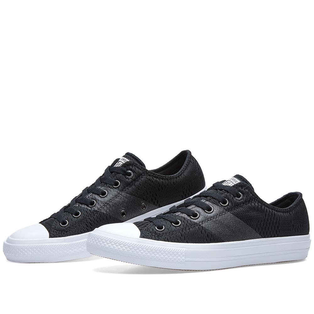 Converse Chuck Taylor Ii Ox Engineered Mesh in Black for Men - Lyst b3dc02567