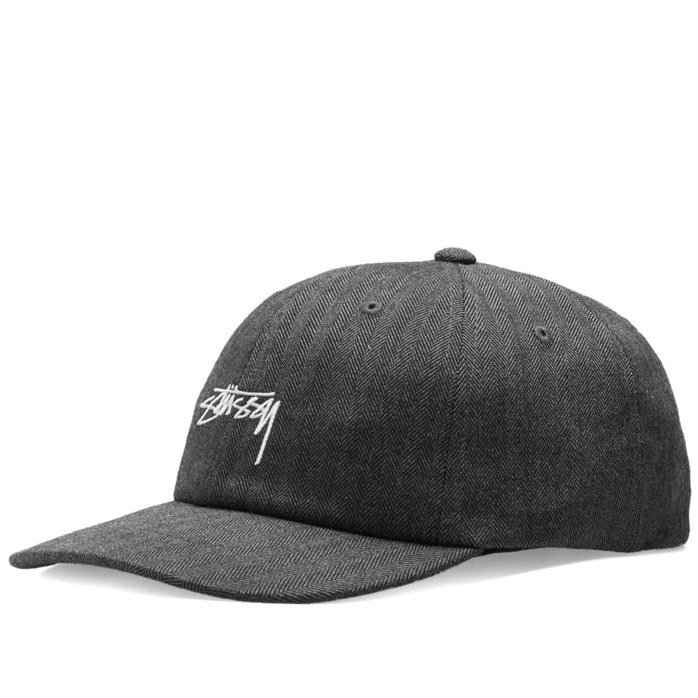 30438f05189 Stussy Stock Herringbone Low Pro Cap in Gray for Men - Lyst
