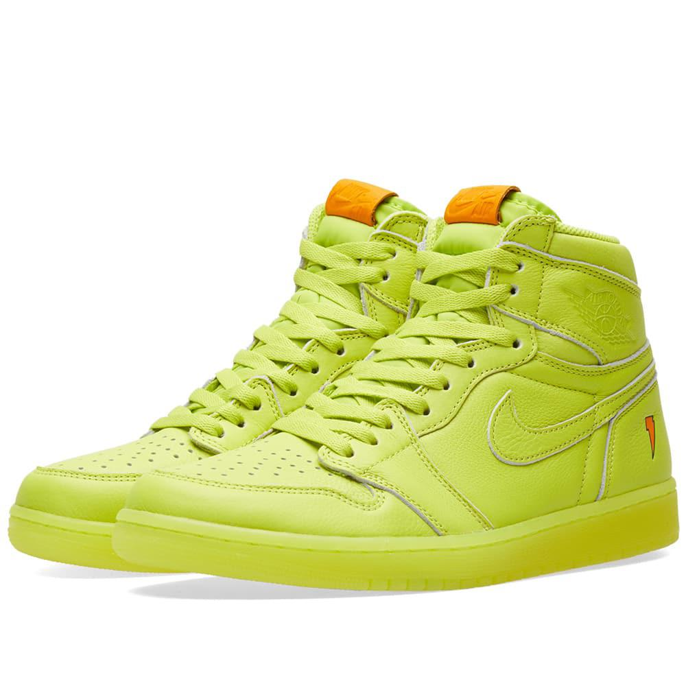 f710cf189 Lyst - Nike Nike Air Jordan 1 Retro Og  gatorade  in Yellow for Men