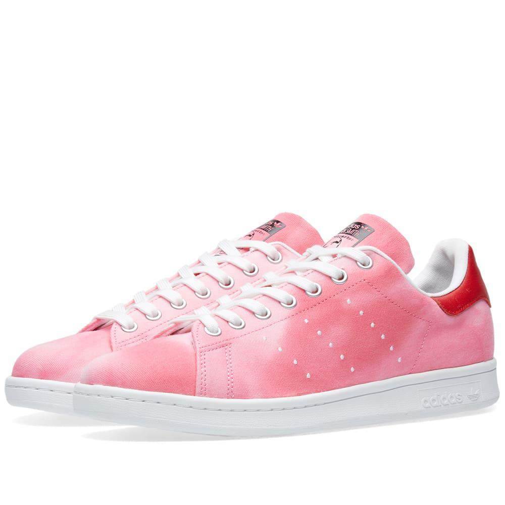 new product 55b21 5b37a Adidas - Red X Pharrell Williams Hu Holi Stan Smith for Men - Lyst