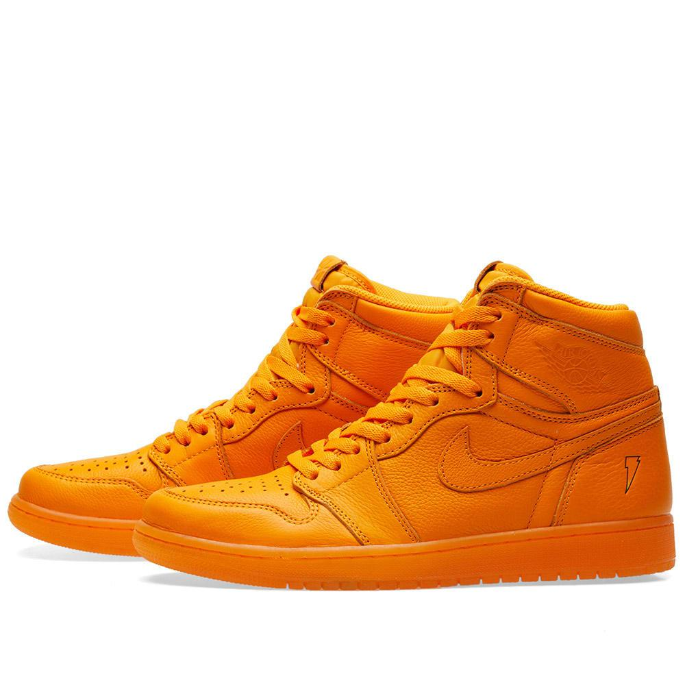 0a0d277bd Lyst - Nike Nike Air Jordan 1 Retro Og  gatorade  in Orange