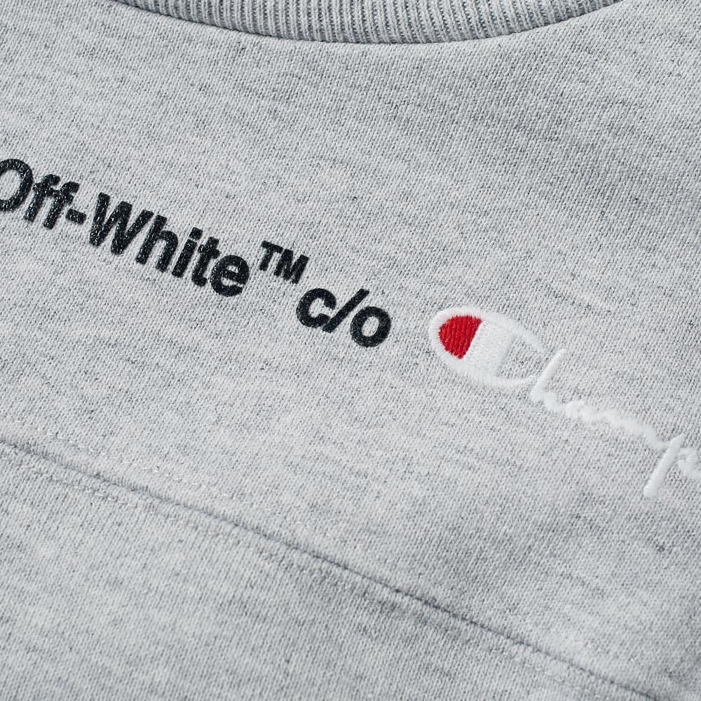 eb265da0 Off White X Champion T Shirt Black