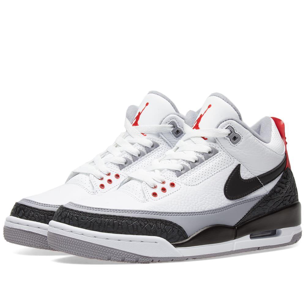 2b02b697306 Nike Air Jordan 3 Retro Tinker Energy in White for Men - Lyst