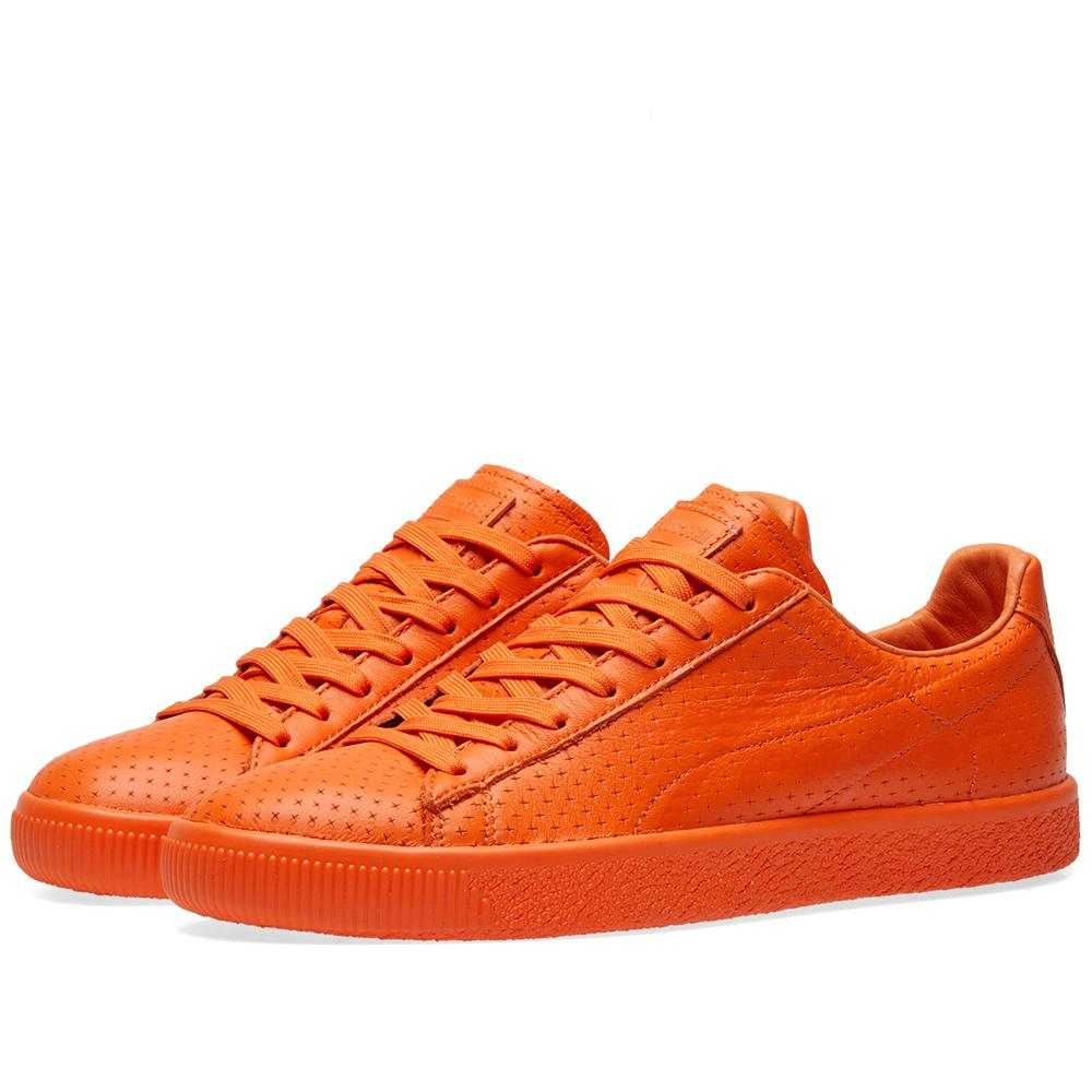 d7f4bfe142c555 Lyst - PUMA X Trapstar Clyde Perforated in Gray for Men
