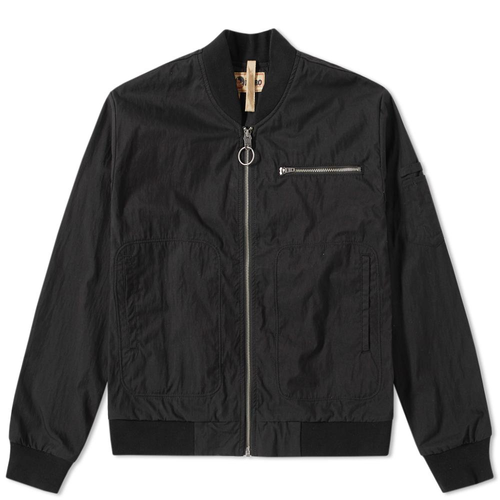 6ee902ae9ff8 Nigel Cabourn X Lybro Rats Bomber Jacket in Black for Men - Save 41 ...