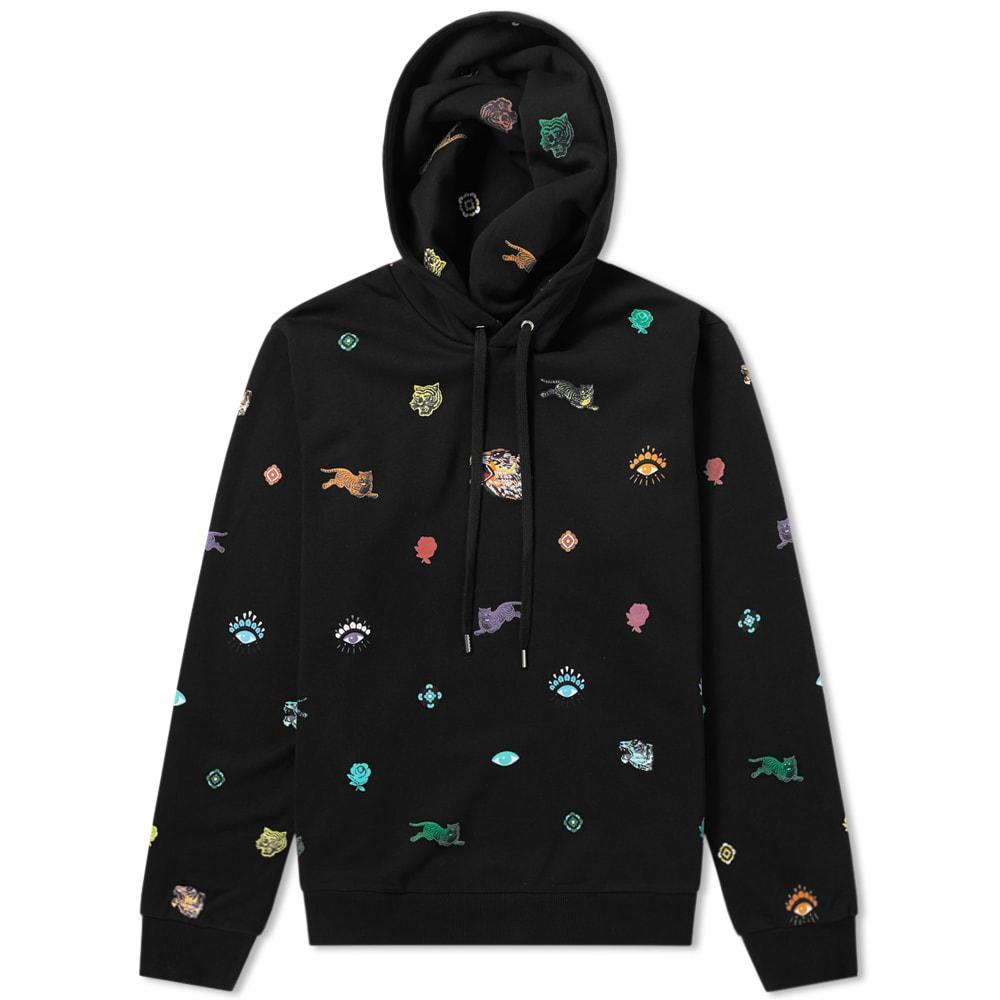 84b89cb8 KENZO Men's Multi Icons Hoodie - Black in Black for Men - Lyst