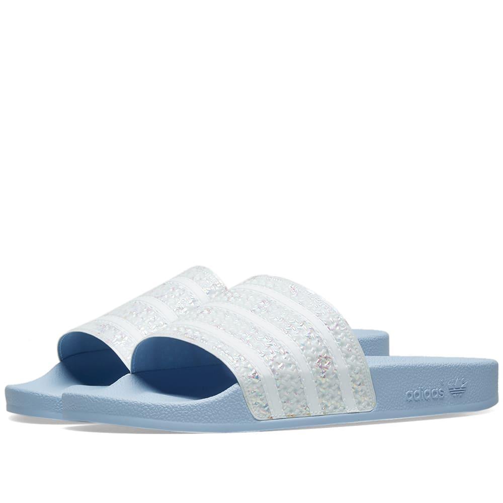 8739f1a9b Lyst - adidas Adilette W in Blue