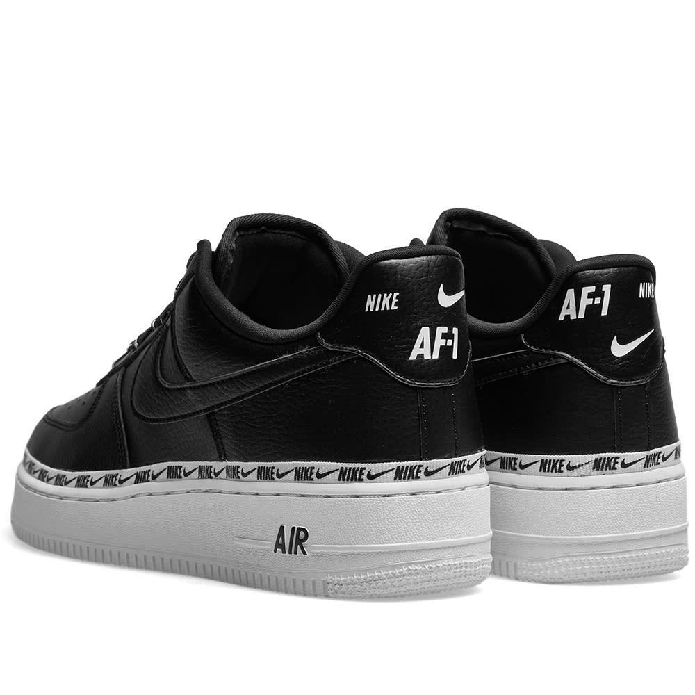 ce1ce943ea Nike - Black Air Force 1 '07 Se Premium W - Lyst. View fullscreen