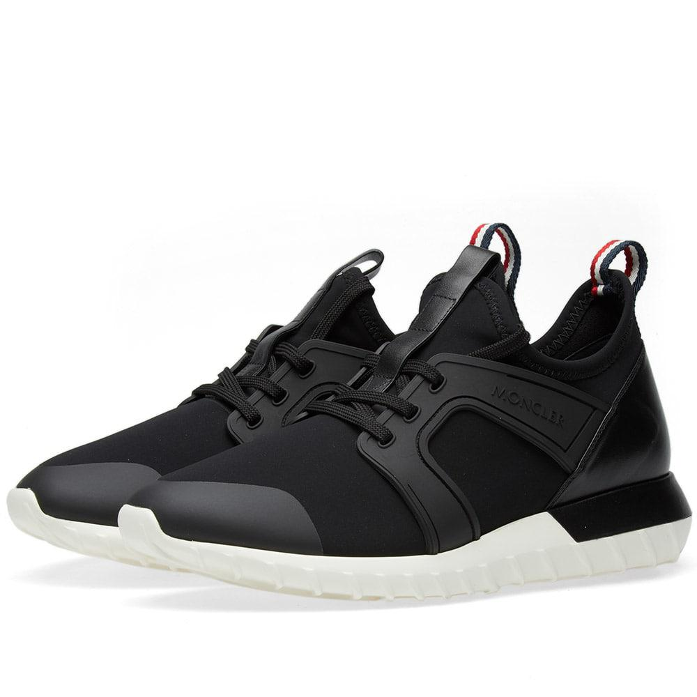 588d8343cce1c Lyst - Moncler Emilien Neoprene Sneaker in Black for Men - Save 49%