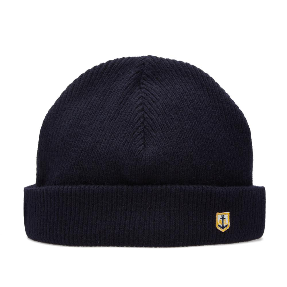 1a7e24b91c0 Lyst - Armor Lux Heritage Plain Beanie in Blue for Men