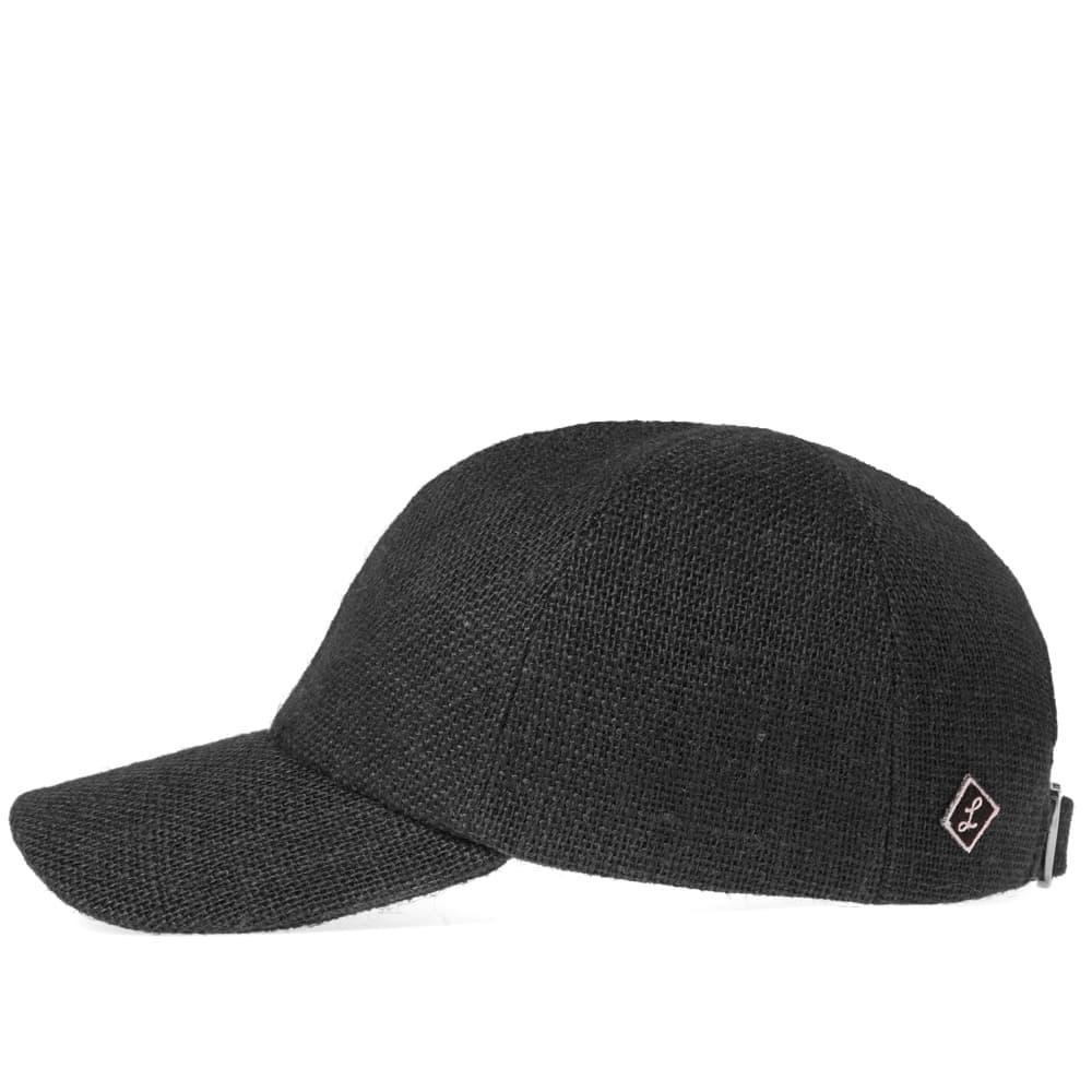 3d0f6694b31 Larose Paris Burlap Baseball Cap in Black for Men - Lyst