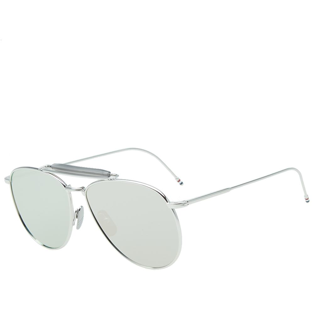 fa413db451e Lyst - Thom Browne Tb-015 Sunglasses in Metallic