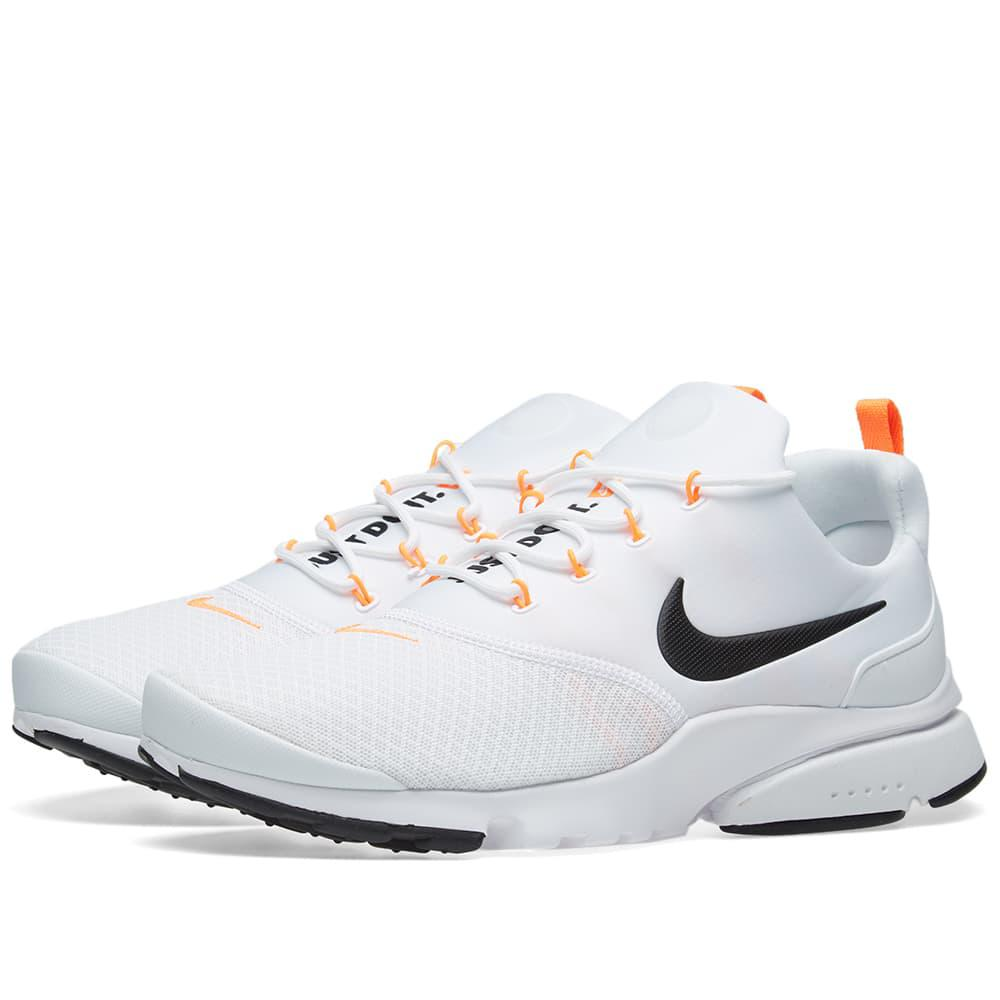 new product a1563 975e5 Nike Presto Fly Jdi in White for Men - Lyst