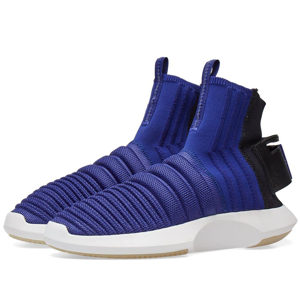 uk availability 09fdf d6c04 adidas Crazy 1 Adv Sock Pk in Purple for Men - Lyst
