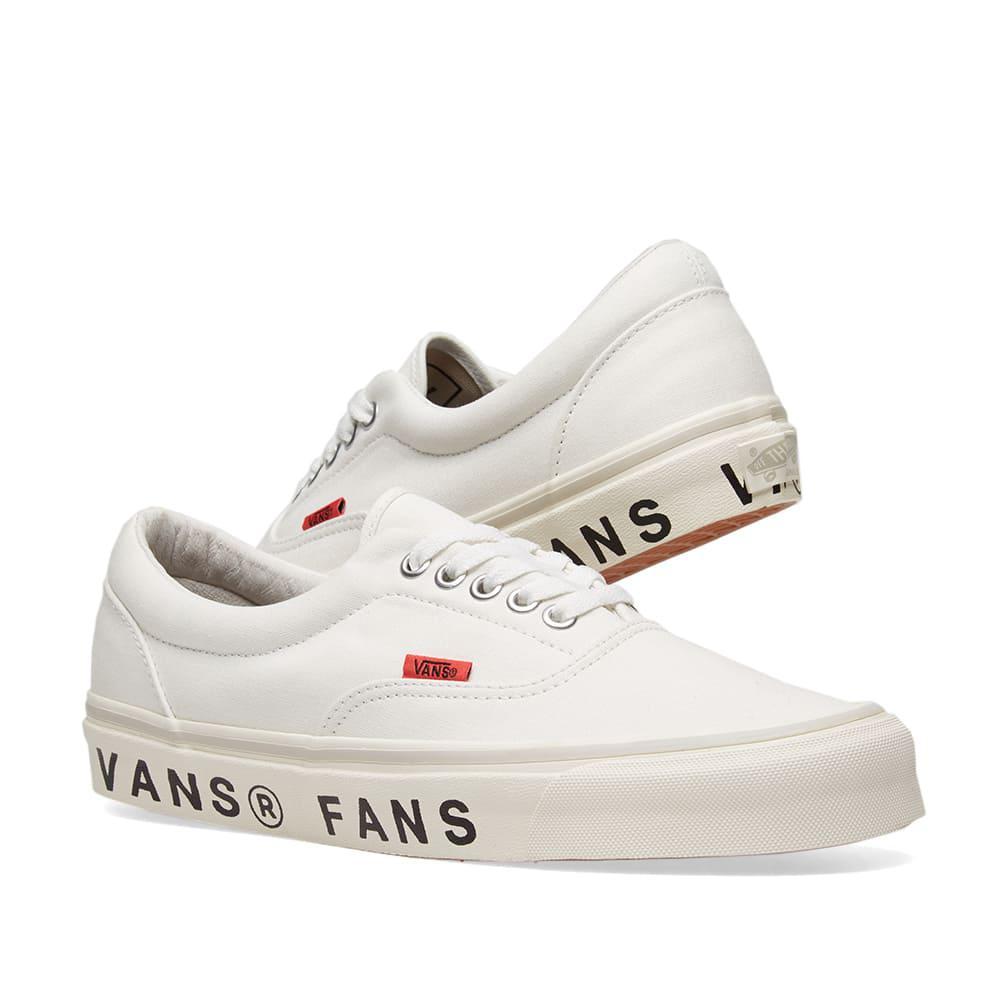 f3f1dac03c Lyst - Vans X Wood Wood Fans Og Era Lx in White for Men - Save 30%