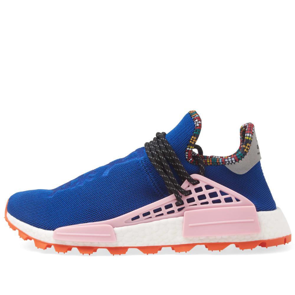 6effa0902 Adidas Originals - Blue Adidas By Pharrell Williams Solarhu Nmd for Men -  Lyst. View fullscreen