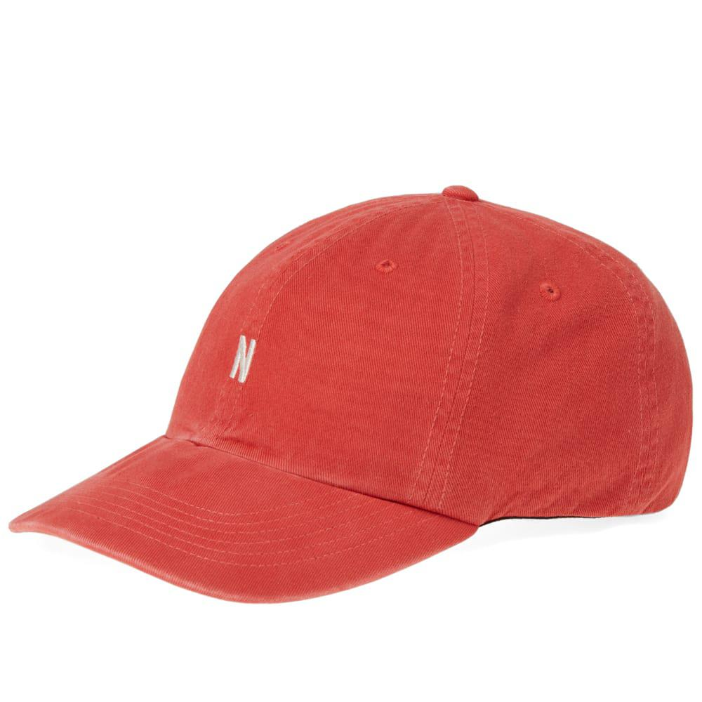 ef3653836f7 Lyst - Norse Projects Twill Sport Cap in Red for Men - Save 44%