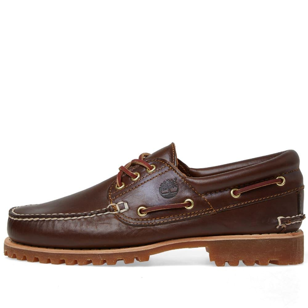 4e98e7485 Timberland - Brown Authentics 3 Eye Classic Lug for Men - Lyst. View  fullscreen