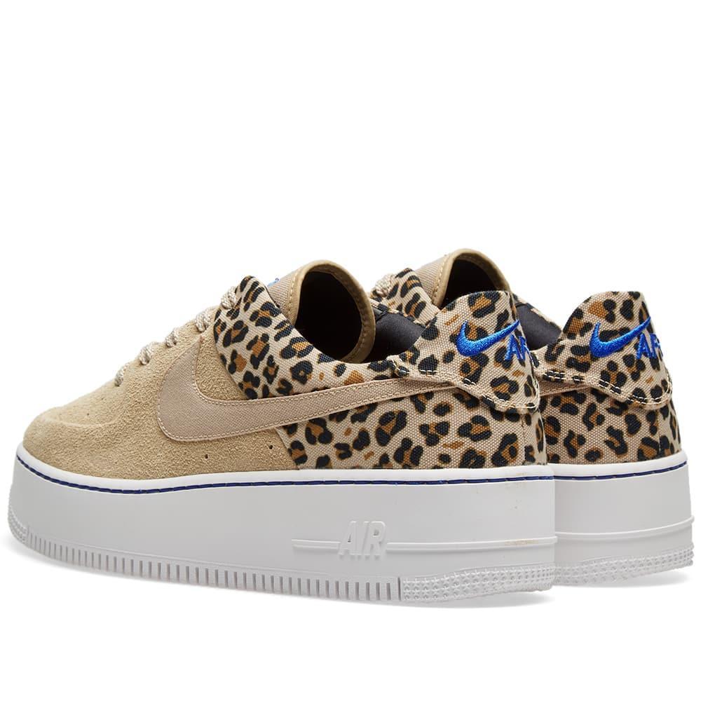 best loved 99a88 65302 Nike Air Force 1 Sage Lo Premium  animal Pack  in Brown - Lyst