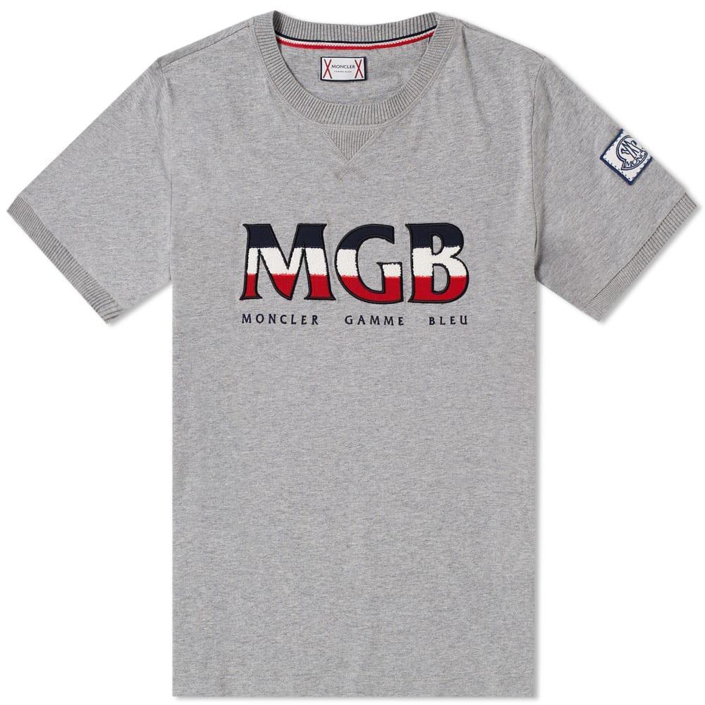 Moncler Gamme Bleu - Gray Logo Tee for Men - Lyst. View fullscreen