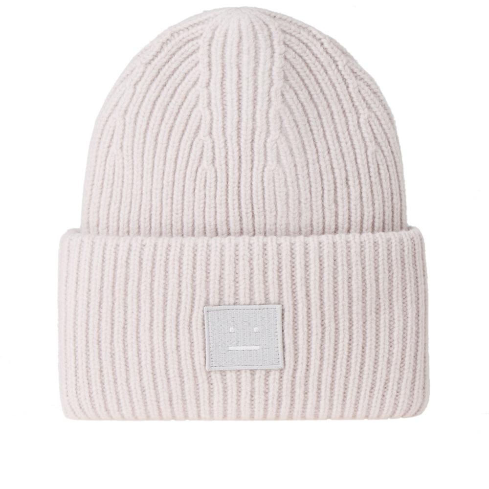 7091e0ad0ed Lyst - Acne Studios Pansy L Face Beanie in Gray