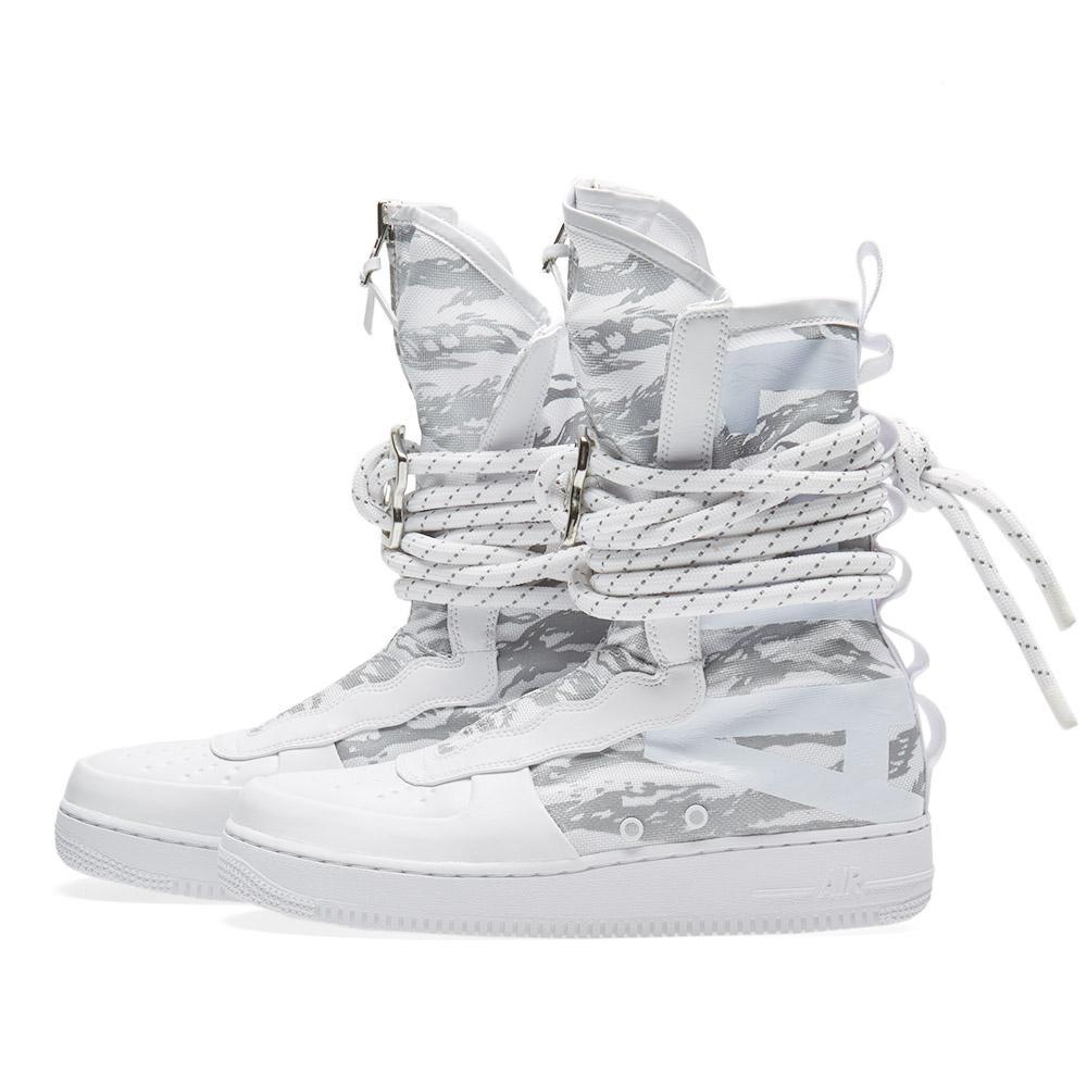 23ccf8c7a17bca Lyst - Nike Sf Air Force 1 Hi Ibex in White