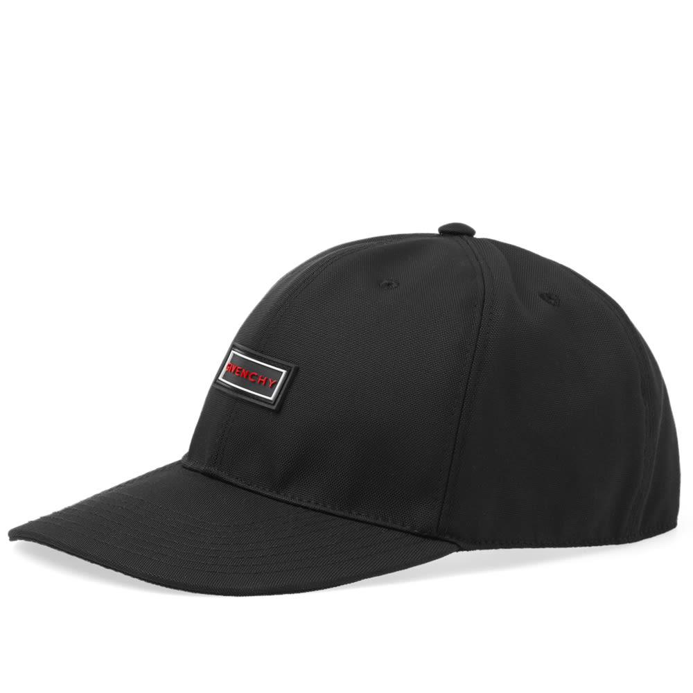5b712a6f4ec Lyst - Givenchy Rubber Patch Logo Cap in Black for Men