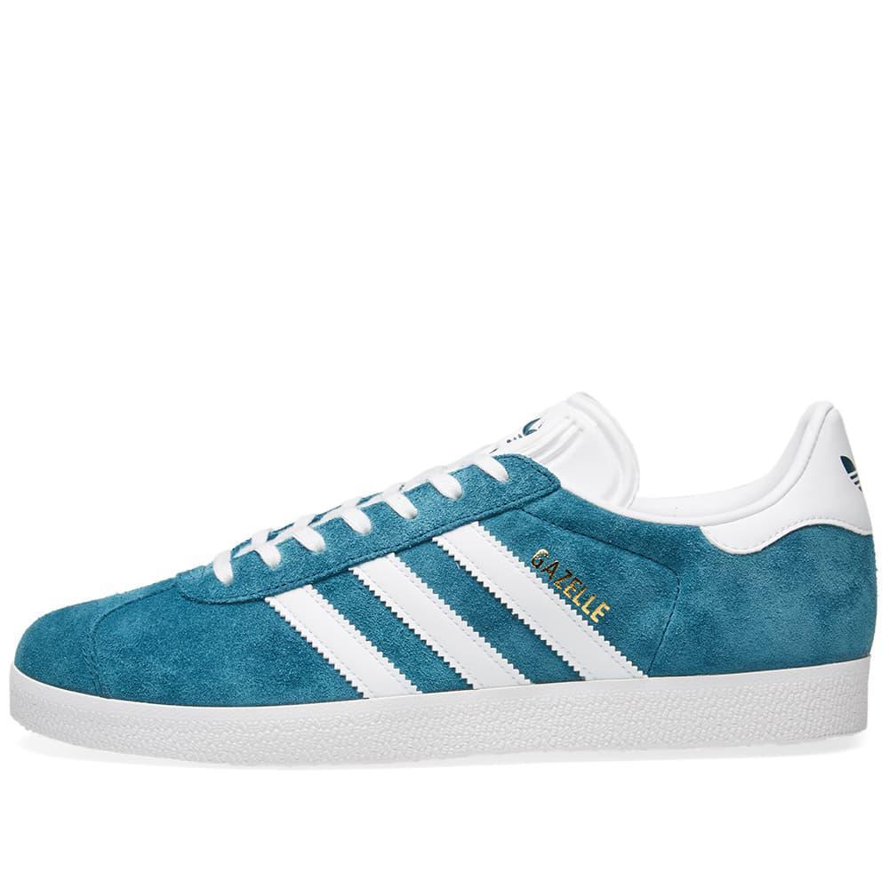 quality design 9d790 b694b Adidas - Blue Gazelle for Men - Lyst. View fullscreen