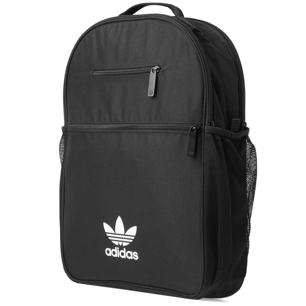 adidas Essential Trefoil Backpack in Black for Men - Lyst 83958c4dab