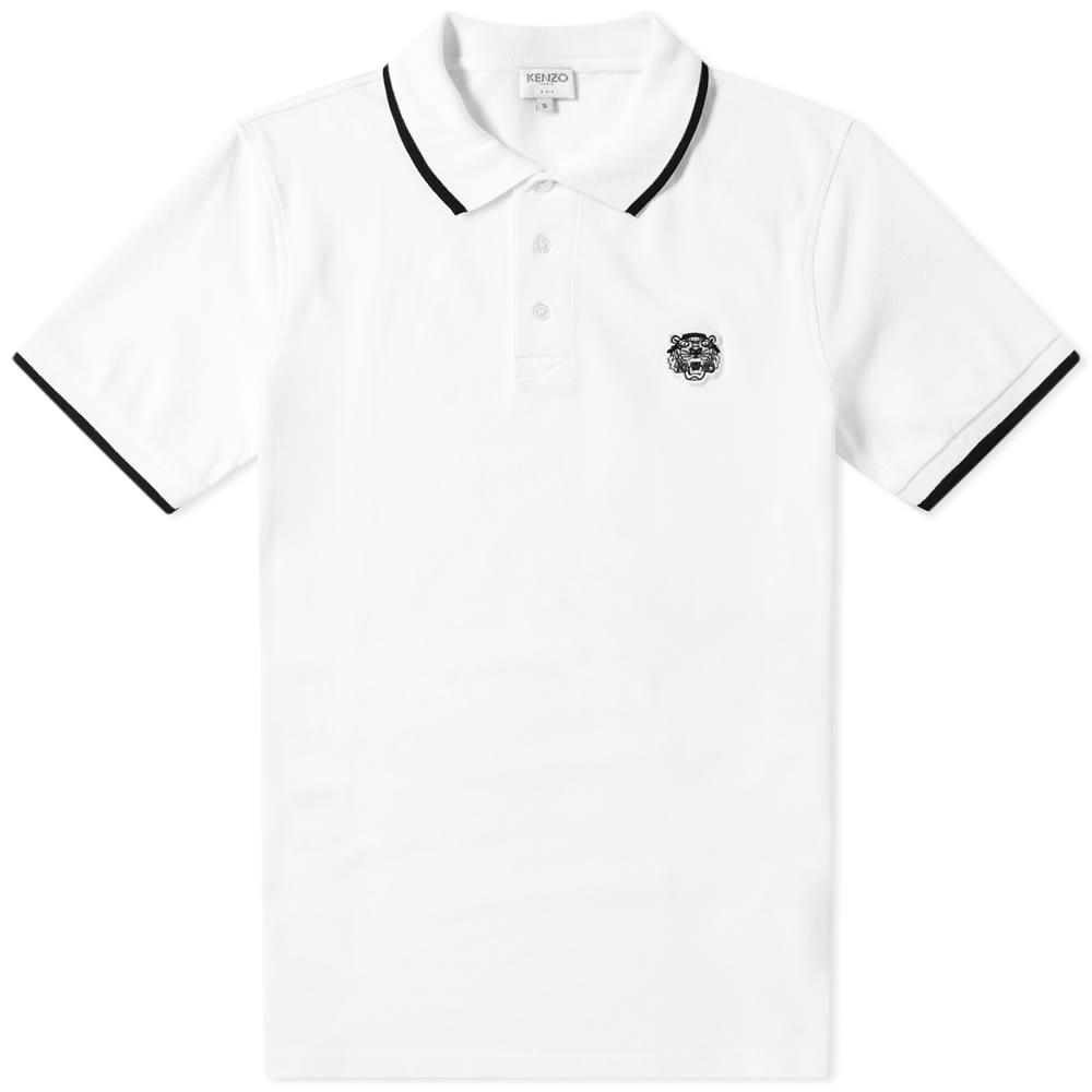 57ef0f568 KENZO - White Tiger Polo for Men - Lyst. View fullscreen